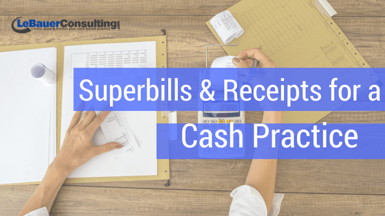 Receipts For Your Cash Based Physical Therapy Practice