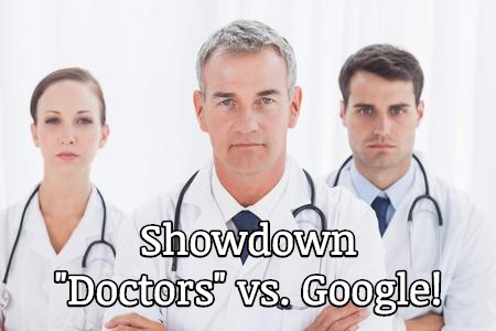 showdown doctors vs google marketing cash based physical therapy practice
