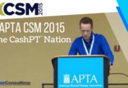 APTA CSM 2015 & The CashPT Nation