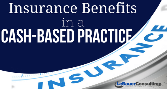 insurance benefits cash pay based physical therapy