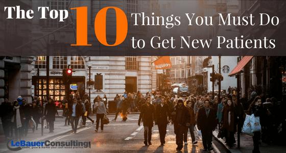 10 Ways to get new patients