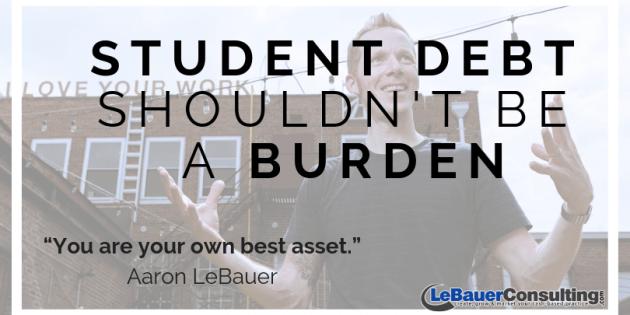 Student debt shouldn't be a burden