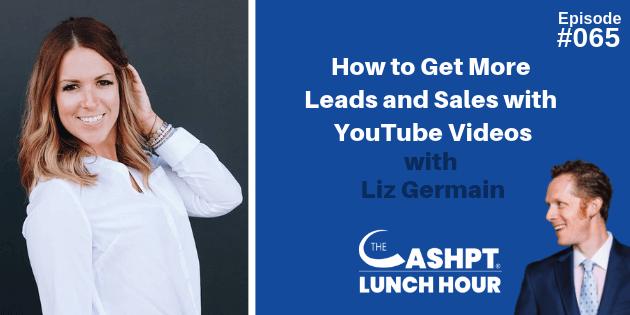 Liz Germain on CashPT Lunch Hour Podcast