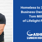 EP 097: Homeless to 7-Figure Business Owner with Tom Miller of Lifelight Fitness