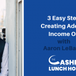 3 Easy Steps to Creating Additional Income Online