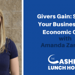 Givers Gain: Scaling Your Business in an Economic Crisis with Amanda Zarriello